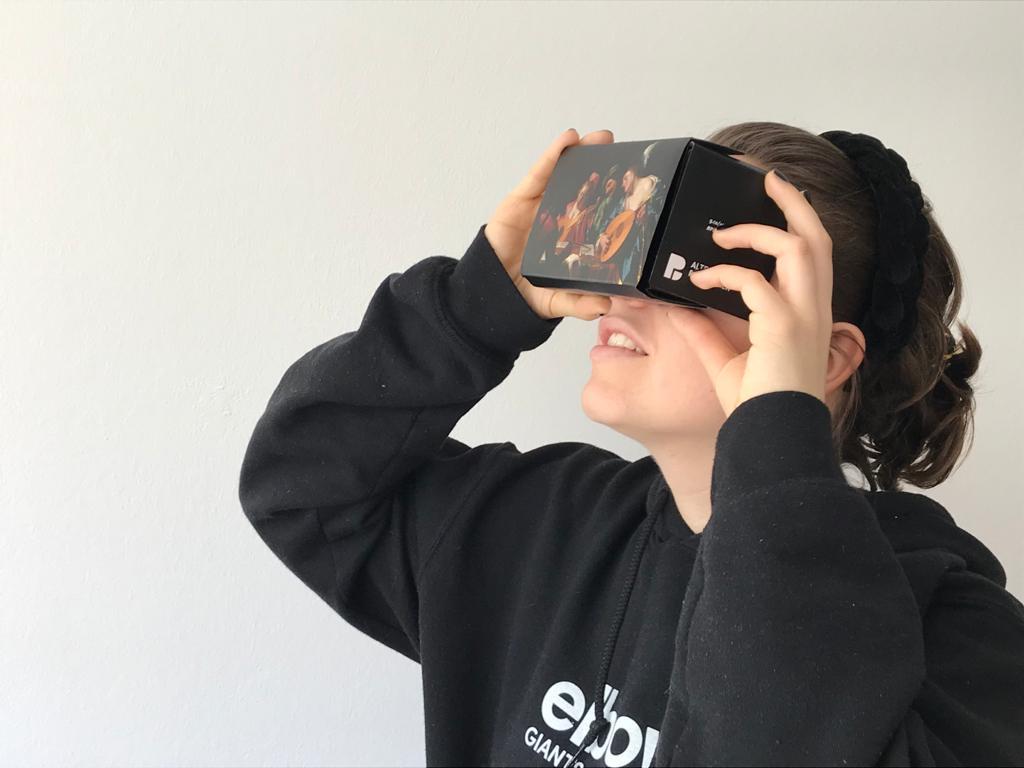 Mit der VR-Brille durchs Museum mit dem Kulturressort