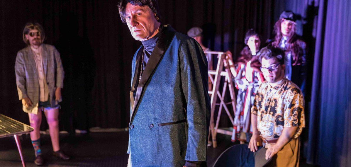 Inszenierung von LULU, 2019, Freie Bühne München, Foto: LULU Ensemble © Johann Miedl