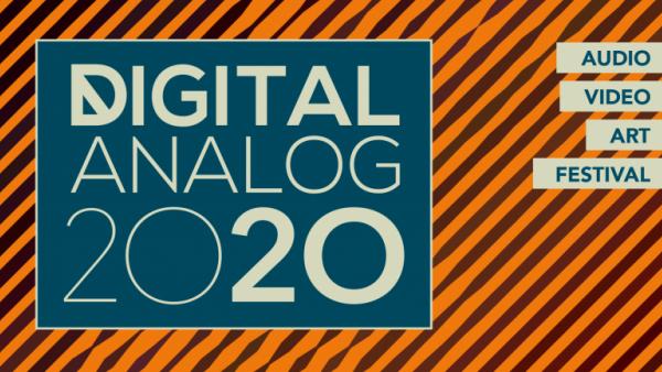 Das Logo und Poster des Digitalanalog Festivals 2020