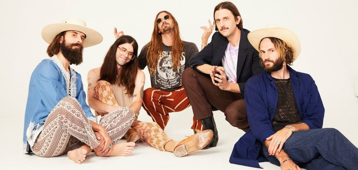 """Die Mitglieder der Band """"Send Medicine"""" aus L.A."""