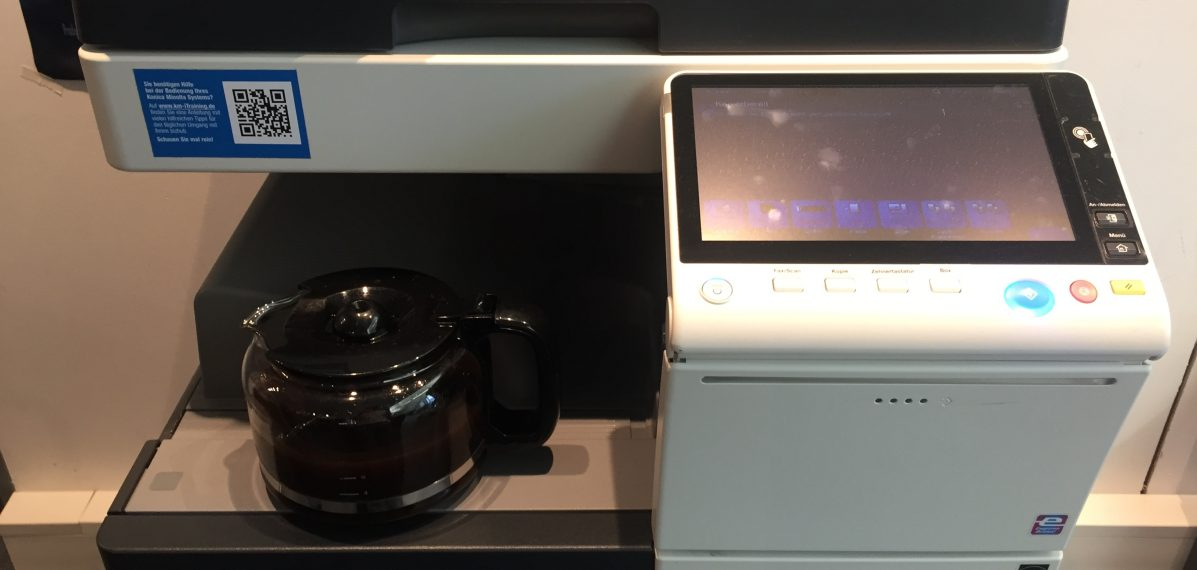 Kaffee und Kopierer - so sieht für viele leider das Praktikum aus